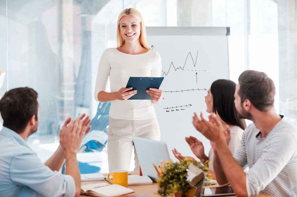 You can learn to give a good presentation