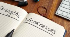 Identifying your weaknesses is the first step